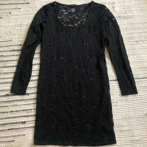 Black lace Talula dress